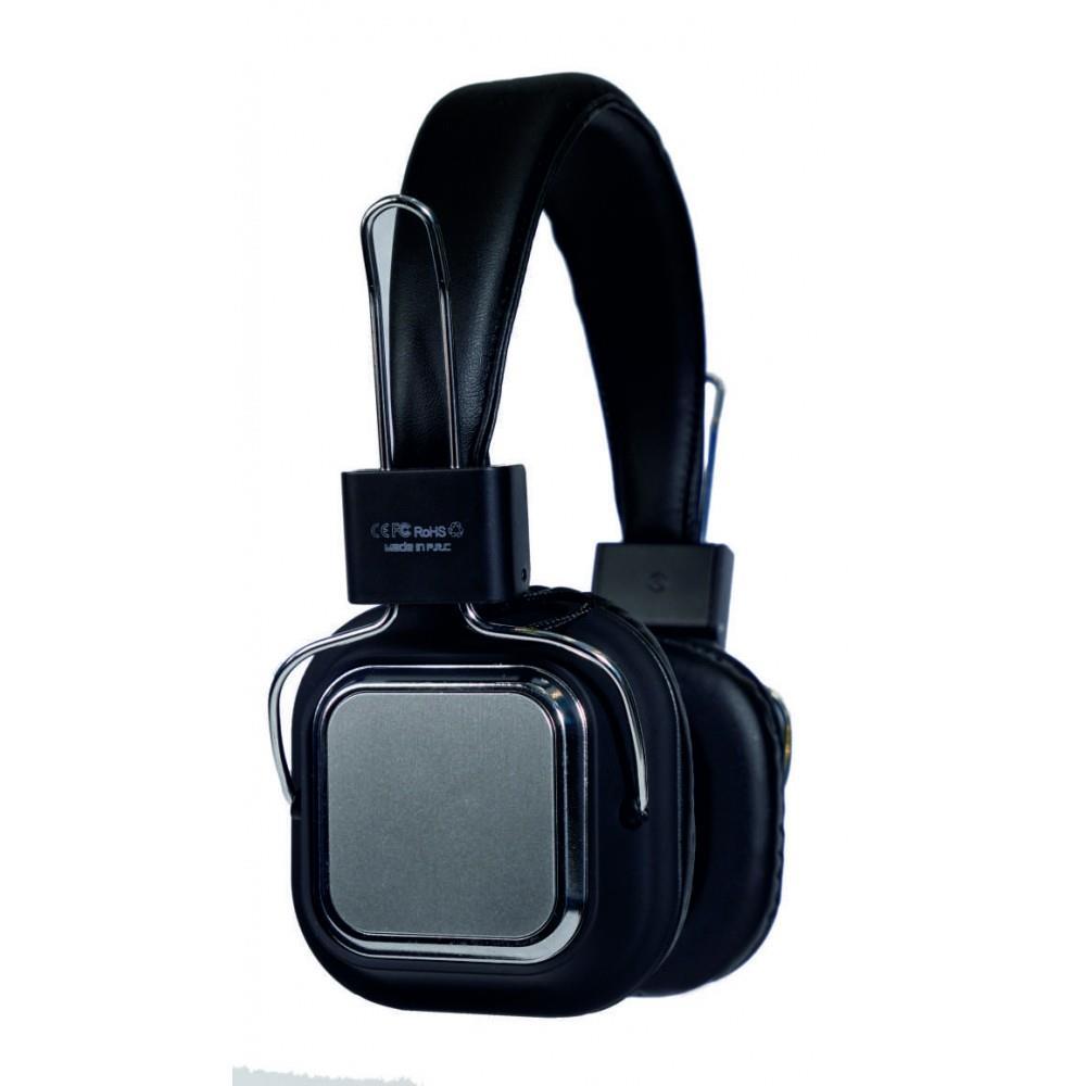 PHONEAKS PA-1110 Bluetooth Kablosuz Kulaklık SD Kart Girişli Black