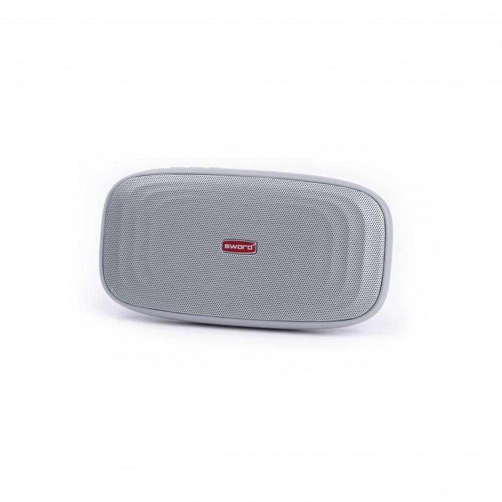 SWORD 5000 mah Powerbank Özellikli  Bluetooth Hoparlör Gray