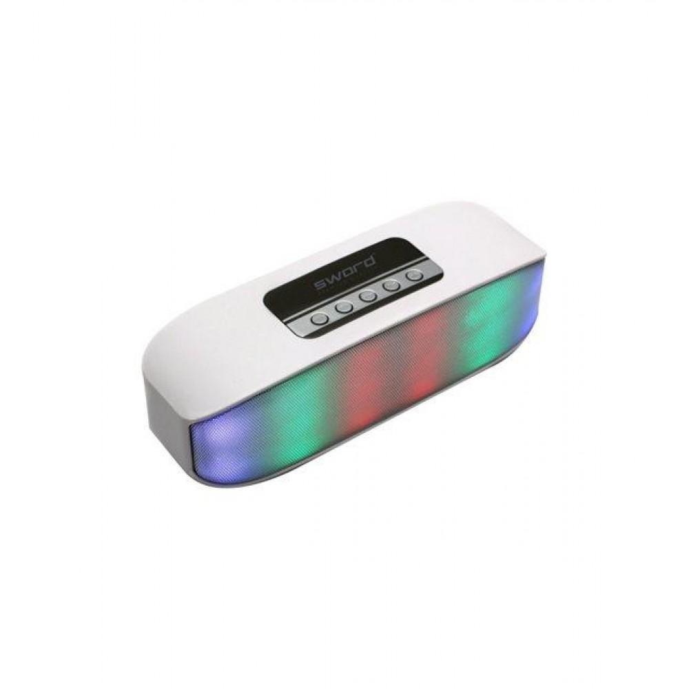 SWORD Bluetooth Kablosuz Hoparlör Happy Enjoy Whıte
