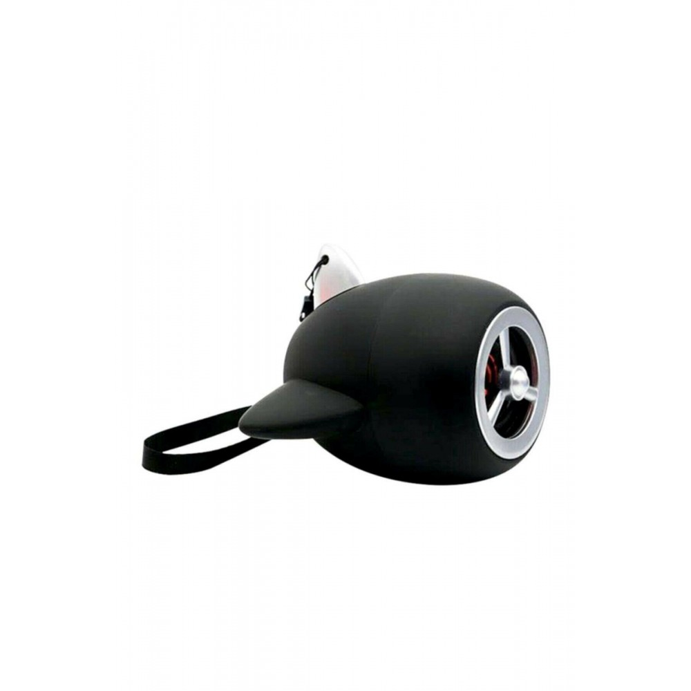 Sword Kablosuz Taşınabilir Bluetooth Hoparlör Uçak Tasarımı Black