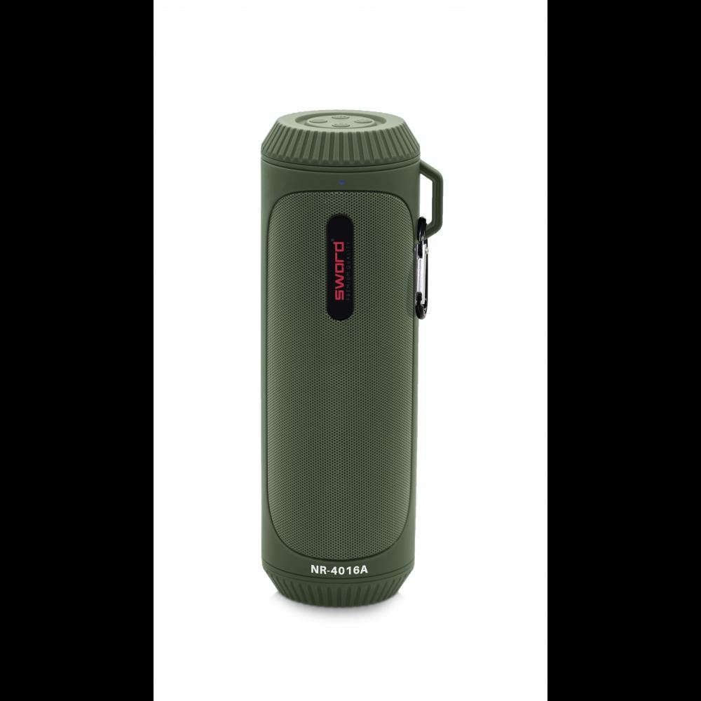 SWORD LED Fenerli Outdoor Bluetooth Hoparlör Green